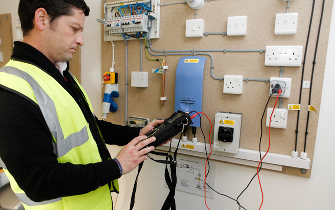 Domestic electrical installation certificates